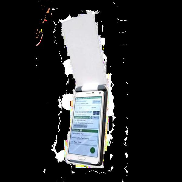 V8 mobile ouvert